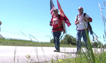 This 66-Year-Old Marine Just Walked 300 Miles For Veteran's Issues — Again