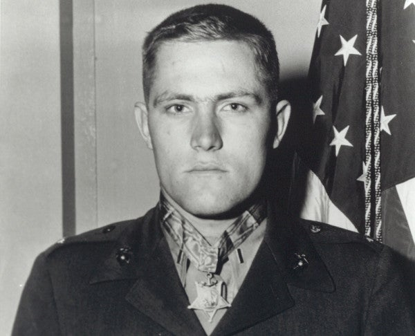 The Medal Of Honor Hero Known As A 'One-Man Marine Corps' Has Died At 92