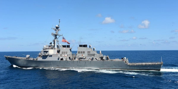 USS Fitzgerald Badly Damaged After Crash With A Merchant Ship In The Pacific