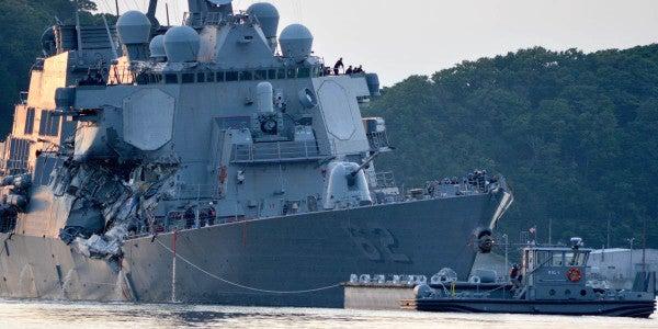 Navy Identifies 7 Sailors Killed In USS Fitzgerald Collision