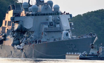 7 Sailors Still Missing, Commander Injured After USS Fitzgerald Collides With Merchant Ship