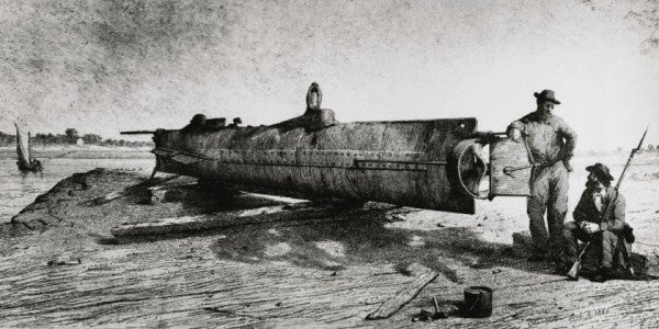 Civil War-Era Submarine Revealed To Public After Years Of Restoration