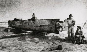 Civil War-Era Submarine Revealed To Public After Years Of Restoration