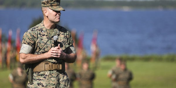 Second Camp Lejeune Commander Fired Due To 'Loss Of Trust And Confidence'