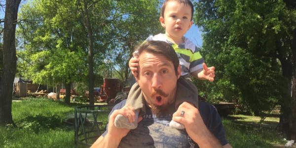 Every Dad Can Relate To Tim Kennedy's Message About Fatherhood