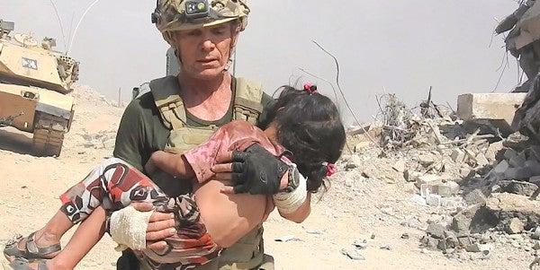 Watch This Ex-Green Beret Run Through ISIS Gunfire To Save A Little Girl