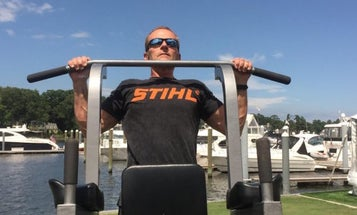 Navy Veteran Seeks To Reclaim Pullup Record With 8,000 In A Day