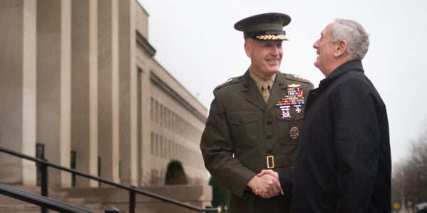 'Fighting Joe' Dunford Explains Exactly How Mattis' 'Annihilation Campaign' Against ISIS Will Go Down