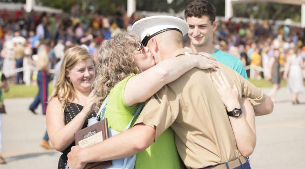 This Recruit Just Became The 7th Marine In His Family