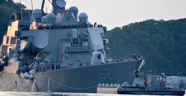 Navy Begins Investigation Into USS Fitzgerald Collision