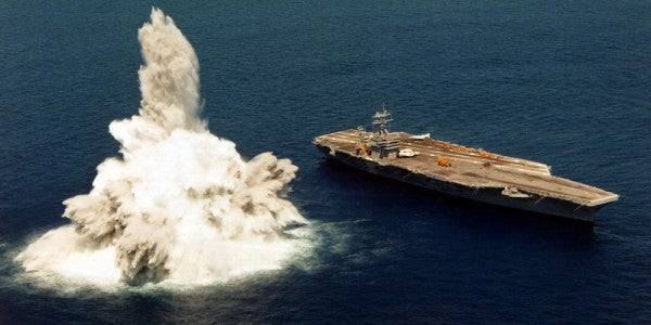 The Navy May Skip A Crucial Test To Rush The USS Gerald R. Ford Into Service