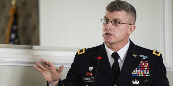 General Blames Career-Ending Fraternization On All His Time In The Sandbox