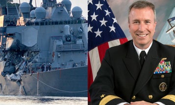 Navy Taps Admiral To Lead Investigation Into USS Fitzgerald Collision