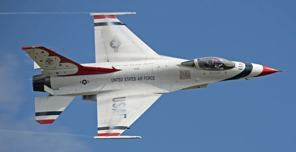Video Reveals Twisted Wreckage Of Thunderbird F-16D That Crashed Ahead Of Dayton Air Show