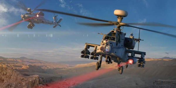 The Army Just Test-Fired A Frickin' Laser Beam From An Apache Attack Helicopter