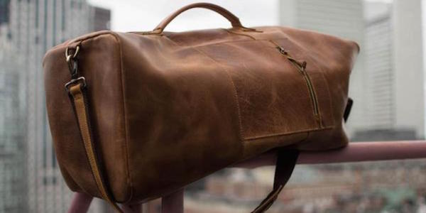 This Leather Duffel Bag Is The Ultimate Gift For Service Members And Military Aficionados