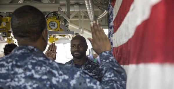 Navy To Cut Reenlistment Bonuses In Brilliant Plan To Boost Retention