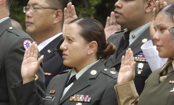 DoD Might Renege On Enlistment Contracts For Foreign-Born Service Members