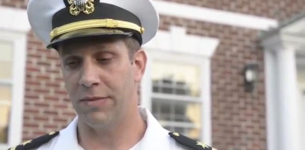 This Navy Officer Plays 'Taps' Each Night, But His Neighbors Aren't All On Board