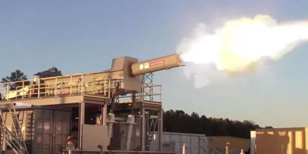 The Electromagnetic Railgun May Not See Action The Way The Navy Originally Planned
