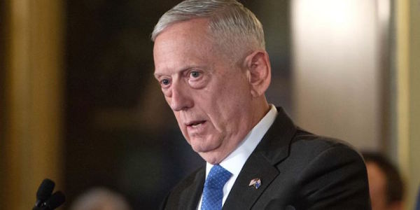 Mattis On Syria: 'The Closer We Get The More Complex It Gets'