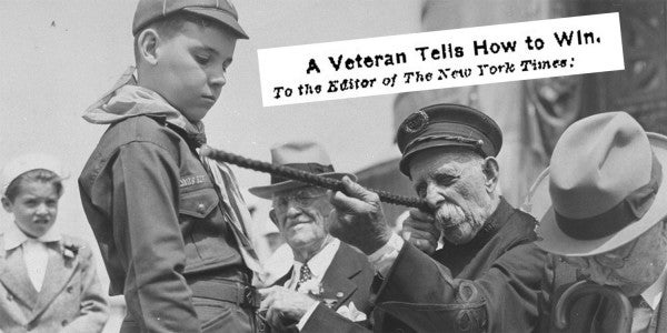 100-Year-Old Letter Proves Salty Vets Always Thought They Knew Better Than Anyone Else