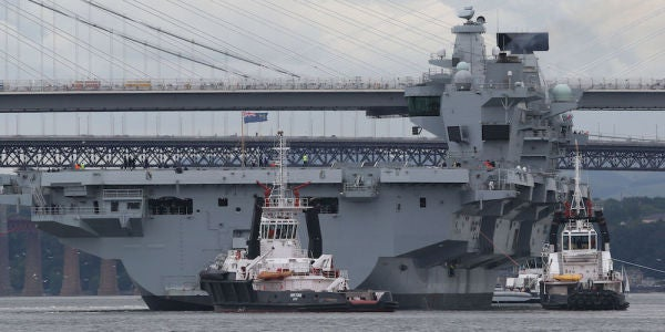 The British Navy's Advanced New Aircraft Carrier Reportedly Runs On Windows XP