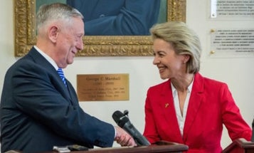 Mattis Plays Clean-Up For Trump Among America's NATO Allies
