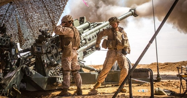 This Is The Devastating Piece of Artillery Leading The Ground Fight Against ISIS