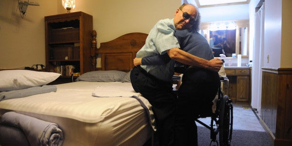 Military Caregivers' Sacrifices Go Unseen. It's Time For That To Change