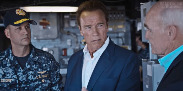 The Navy Showed Arnold Schwarzenegger How Climate Change Will Screw Over Its Bases