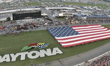 Here's How NASCAR Makes The Military Feel Right At Home At Daytona
