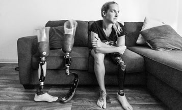 Wounded Warrior Kirstie Ennis Kicks Ass As The First Vet To Grace The Cover Of ESPN The Magazine's Body Issue