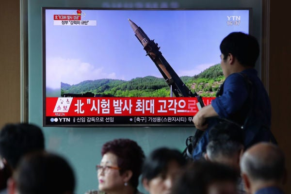 North Korea Just Tested A Missile That Could Reach Alaska