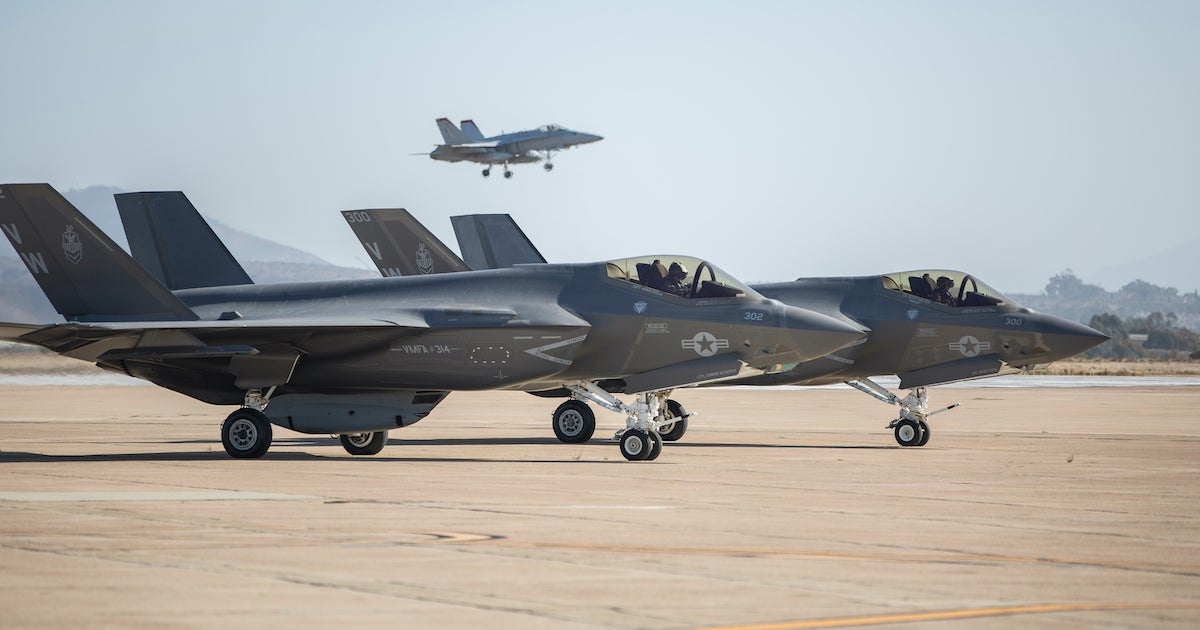 The Marine Corps's first carrier-based F-35 squadron is officially ready for combat