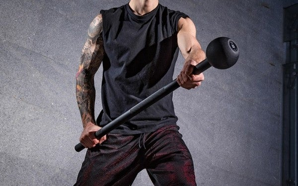 Bludgeon Your Biceps — And Enemies — With This Brutal Steel Mace