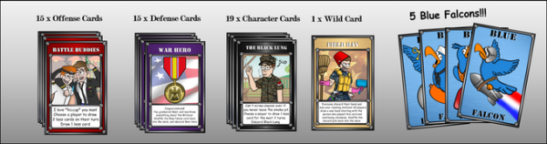 Screw Your Friends Over In 'Blue Falcon,' A New Card Game For Vets