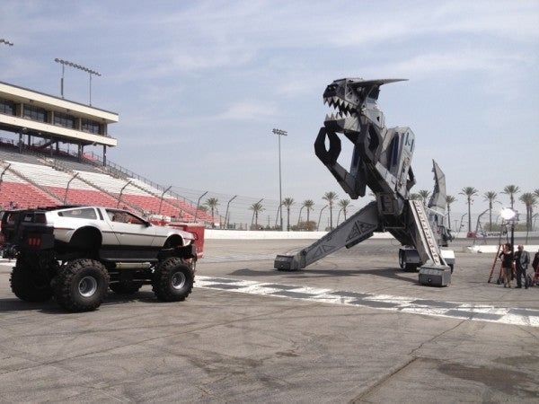 We Can't Stop Drooling Over This DeLorean Monster Truck