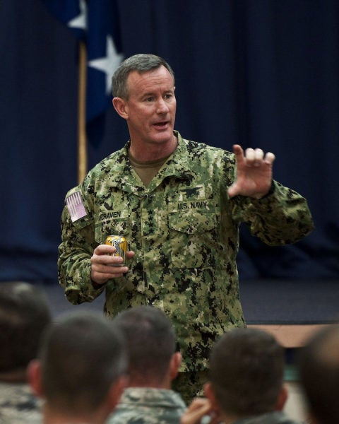 Retired Adm McRaven Explains Why Officers Don't Always Make The Best Politicians