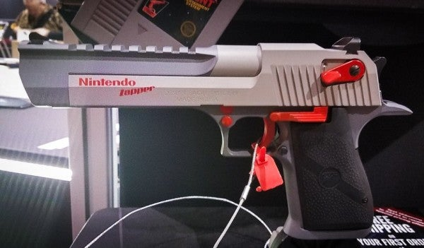 This Desert Eagle Is The Nintendo Zapper You've Always Wanted