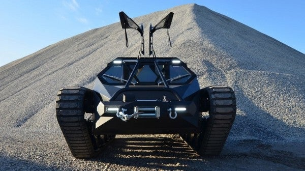 This Luxury Tank Belongs In A Bond Villain's Garage, But Now You Can Buy One