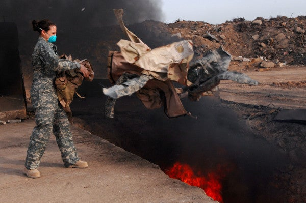 'There Was No Escaping It': Iraq Vets Are Becoming Terminally Ill And Burn Pits May Be To Blame