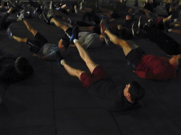 What I Learned From Working Out With 2 Former Navy SEAL Commanders Before Dawn