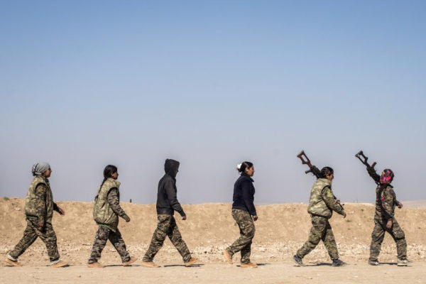 The Complexity Of Syria's War Is Catching Up To The US