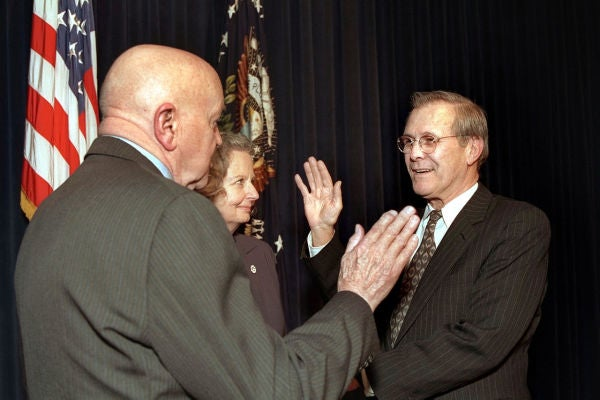 My Date With Rummy: Now 84, The Former Secretary Of Defense Is As Wily As Ever