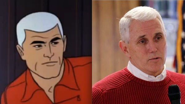 Mike Pence Resembles A Scary Number Of Fictional Cartoon Veterans