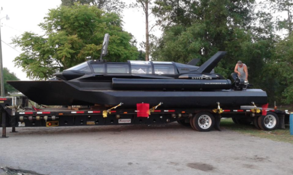 The Marines Are Eyeing A Badass Speedboat That Transforms Into A Spy Sub