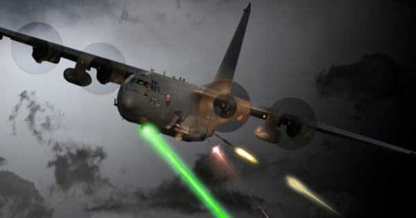 The Air Force Is Preparing To Test A Laser Cannon On Its 'Ultimate Battle Plane'