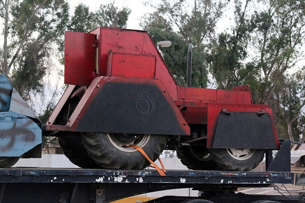 Exclusive: See The Suicide Tractors And DIY Rounds ISIS Lost In Mosul