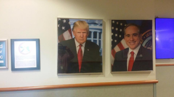 Congressman Wins Big After Creating Scandal Over Trump's Photo Not Hanging In VA Hospital